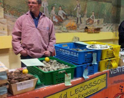 Samedi 22 décembre à partir de 16h, David Lecossois, Ostréiculteur en Vendée