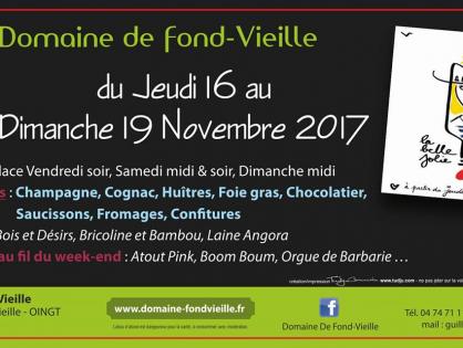 Portes ouvertes du Beaujolais nouveau 2017