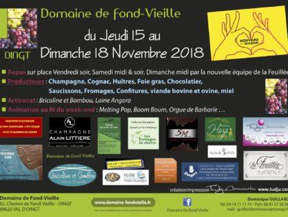 Portes ouvertes du Beaujolais nouveau 2018