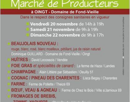 Sortie du Beaujolais Nouveau 2020